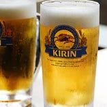 冷凍ジョッキでキーンと冷えた生ビールを思う存分♪