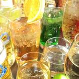 全20種以上★豊富な飲み放題メニュー