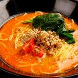 【当店自慢の一品】金胡麻担々麺(温/冷)