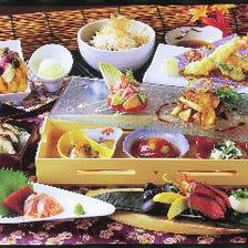 土曜日限定旬菜ランチ(要予約)