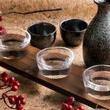 日本酒や焼酎など豊富な品揃え
