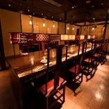 落ち着いた店内で 本場の四川料理をご堪能ください