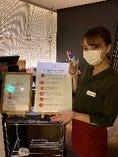 全てのお客様にご案内の前に感染防止策のご協力をお願いしております。ご安心してお食事をお楽しみ下さい。