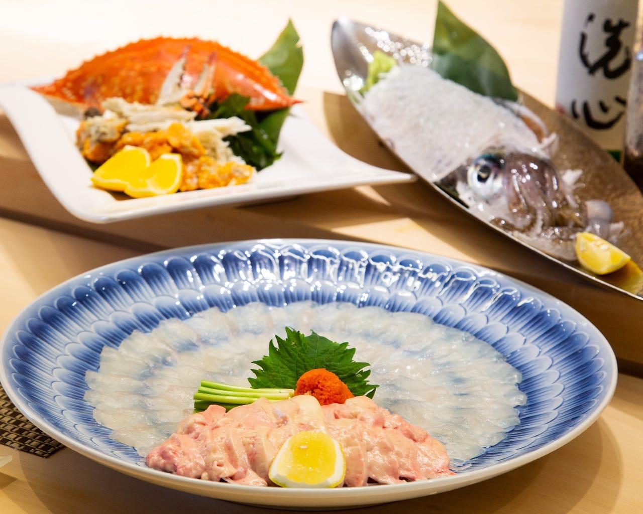 天然高級食材◆宴会15,000円コース~