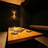 ベンチ個室◆5~7名様用