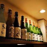 日本酒一流銘柄ズラリ!