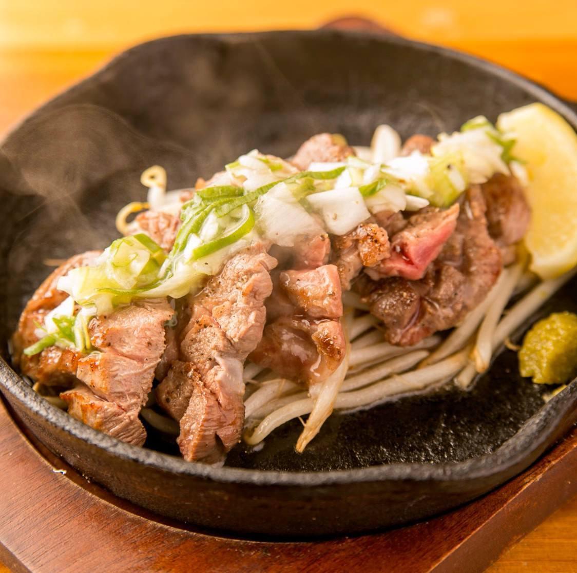 【sakuコース】自慢の鉄板焼とお好み焼をお得に楽しめるコース!!