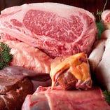 肉にもこだわる当店は、生産者の顔が見える食材を厳選して取り揃えております。