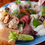 全国より選りすぐりの鮮魚をご用意。旬の美味をご堪能ください