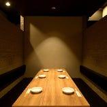 【ソファー半個室】~6名様◆カーテン仕切りのゆったり半個室。女子会やコンパに◎