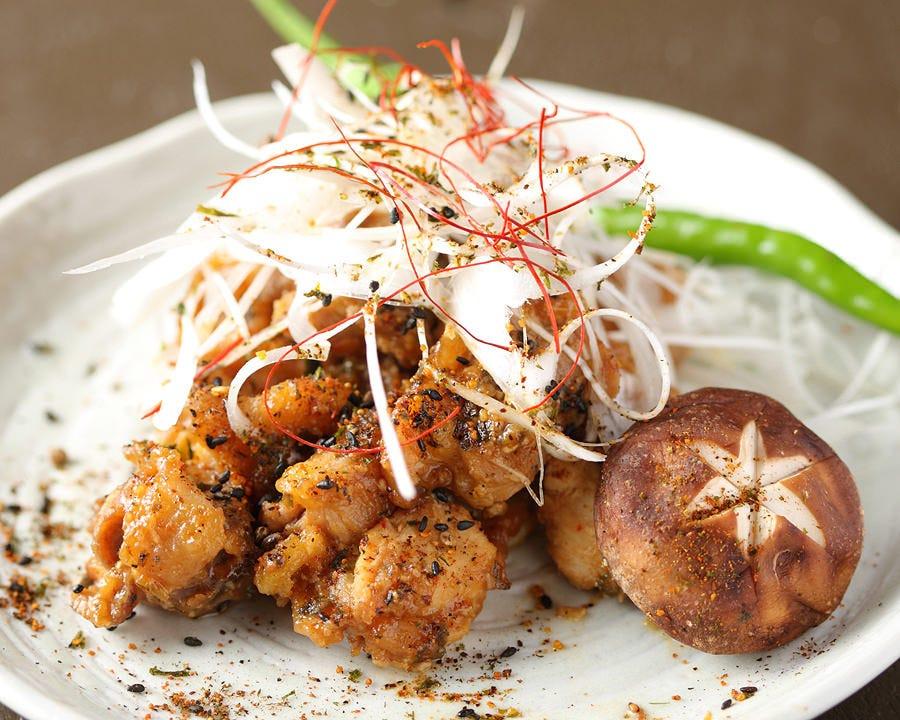ふわふわな食感でジューシーな味わい 比内地鶏仙台味噌焼