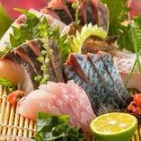 五島列島鮮魚のお刺身盛り合わせ【長崎県】