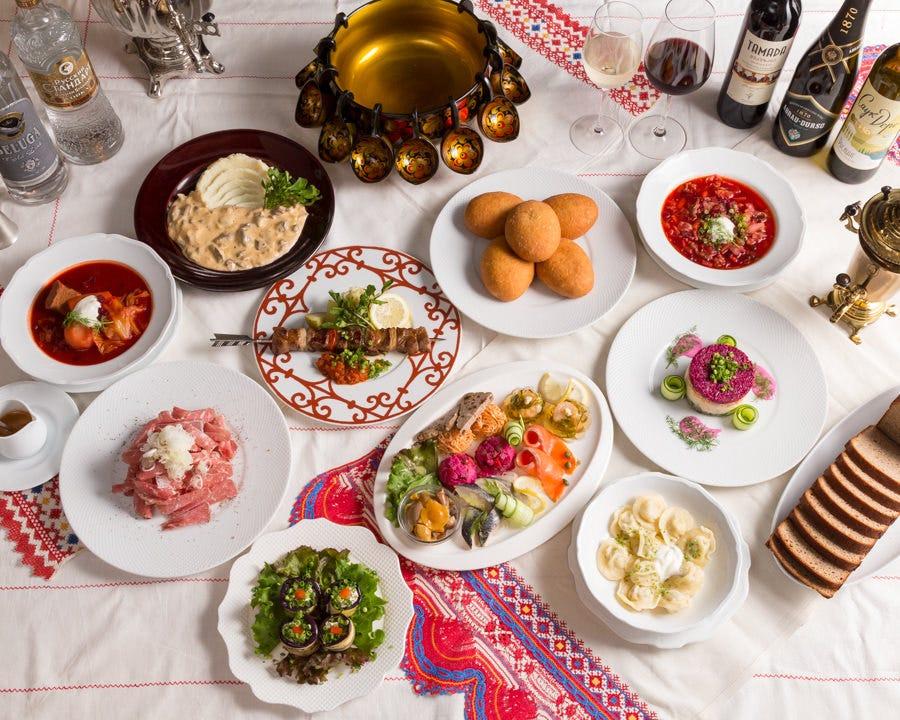 ロゴスキー発祥のロシア料理