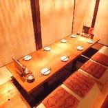 2F:中人数掘りごたつ個室席