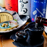 〈日本酒〉 兵庫県をはじめ全国からの鯖に合う地酒を揃えました
