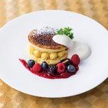 ブリュレ風パンケーキ
