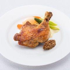 鶏もも肉のコンフィ