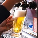 飲み放題は生ビールなど全28種!