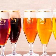 生ビールは全7種類!お好みは??