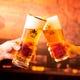 もちろんサッポロ生ビールで乾杯。