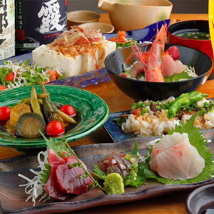 当日もOK!近海鮮魚のおまかせコース