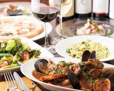 60種類を超えるイタリア郷土料理