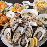焼き牡蠣食べ放題コース