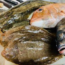 ◆鮮度抜群の海鮮を堪能