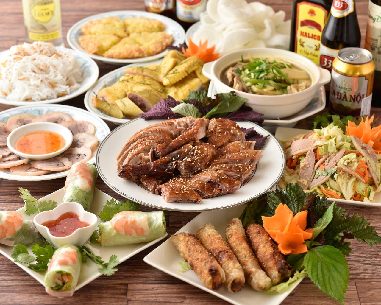 本格ベトナム料理を存分に堪能