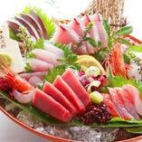 生鮮朝獲れ新鮮鮮魚を使用した料理【神奈川県三浦市三崎】