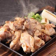 地鶏の炙り焼き