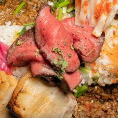 北海道産食材スパイシーカレー