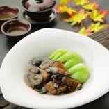 椎茸とタケノコの醤油炒め