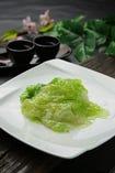 季節野菜のあっさり炒め