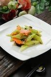 季節野菜のXO醤炒め