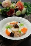 海鮮あんかけ豆腐