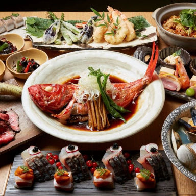 旨い魚と天ぷら 口々‐くちぐち‐ 名駅三丁目  コースの画像