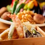 食材にもこだわった「天ぷら」 1つずつご注文いただけます!