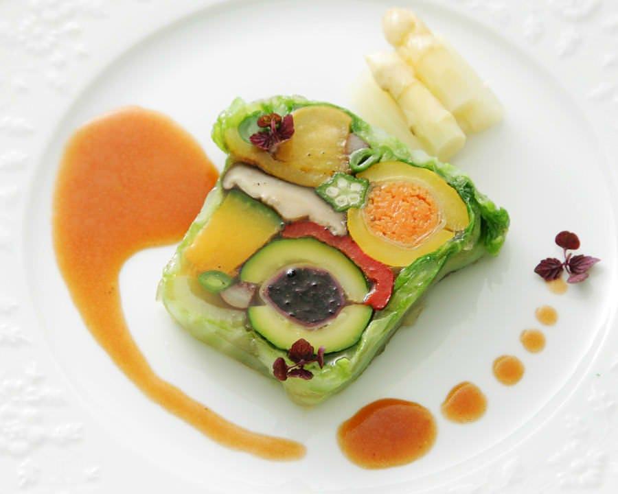 おいしい野菜を加賀に求めた料理