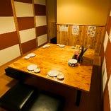 テーブル席個室(~8名様)
