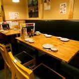 テーブル席(~14名様)
