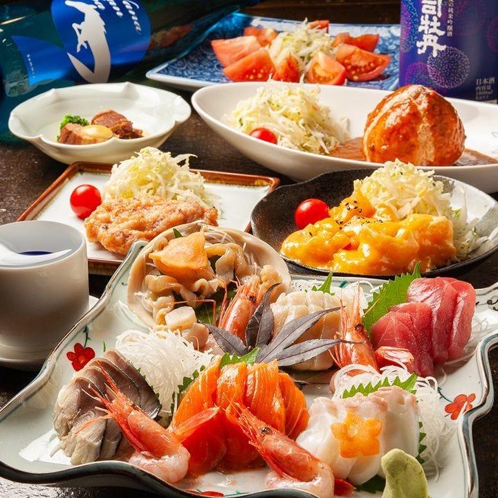 4名様~旬食材が楽しめるコース!