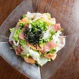 【海の幸】がっつりのサラダ