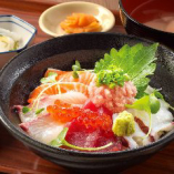 6種の海鮮丼定食