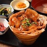 北海道名物 豚丼定食