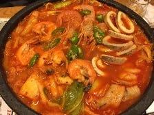 ピリ辛 海鮮鍋