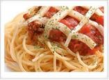 モッツァレラチーズのミートソース