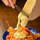 インスタ映えメニューといえばラクレットチーズ!