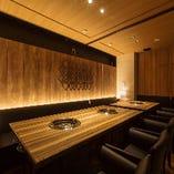 最大12名様利用可能な完全個室
