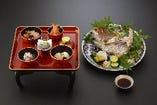 お食べ初め御膳1000円真鯛塩焼2000円